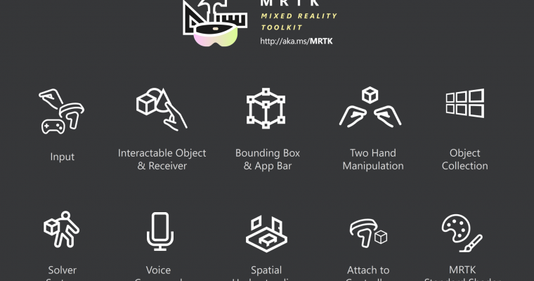 MRTK: Open-Source Building Blocks for Mixed Reality