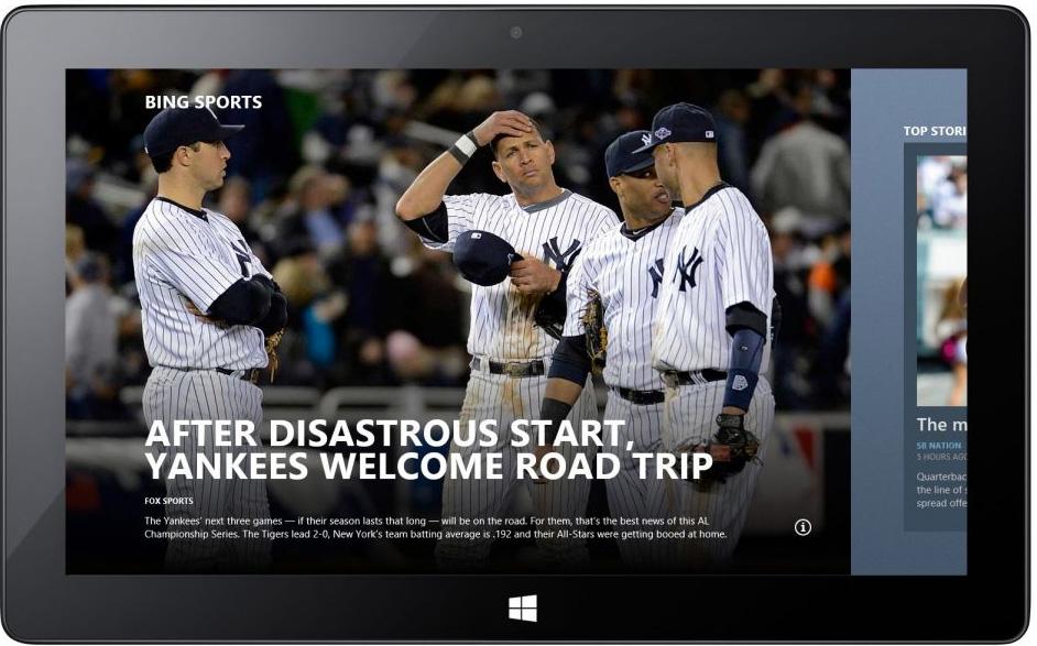 MSN/Bing Sports