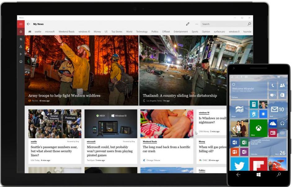 MSN Windows10