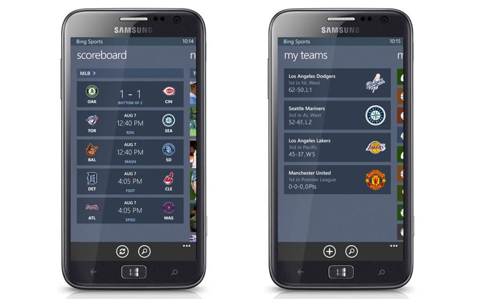 Sports Windows Phone 8