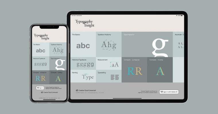Typography Insight has been featured on App Store!