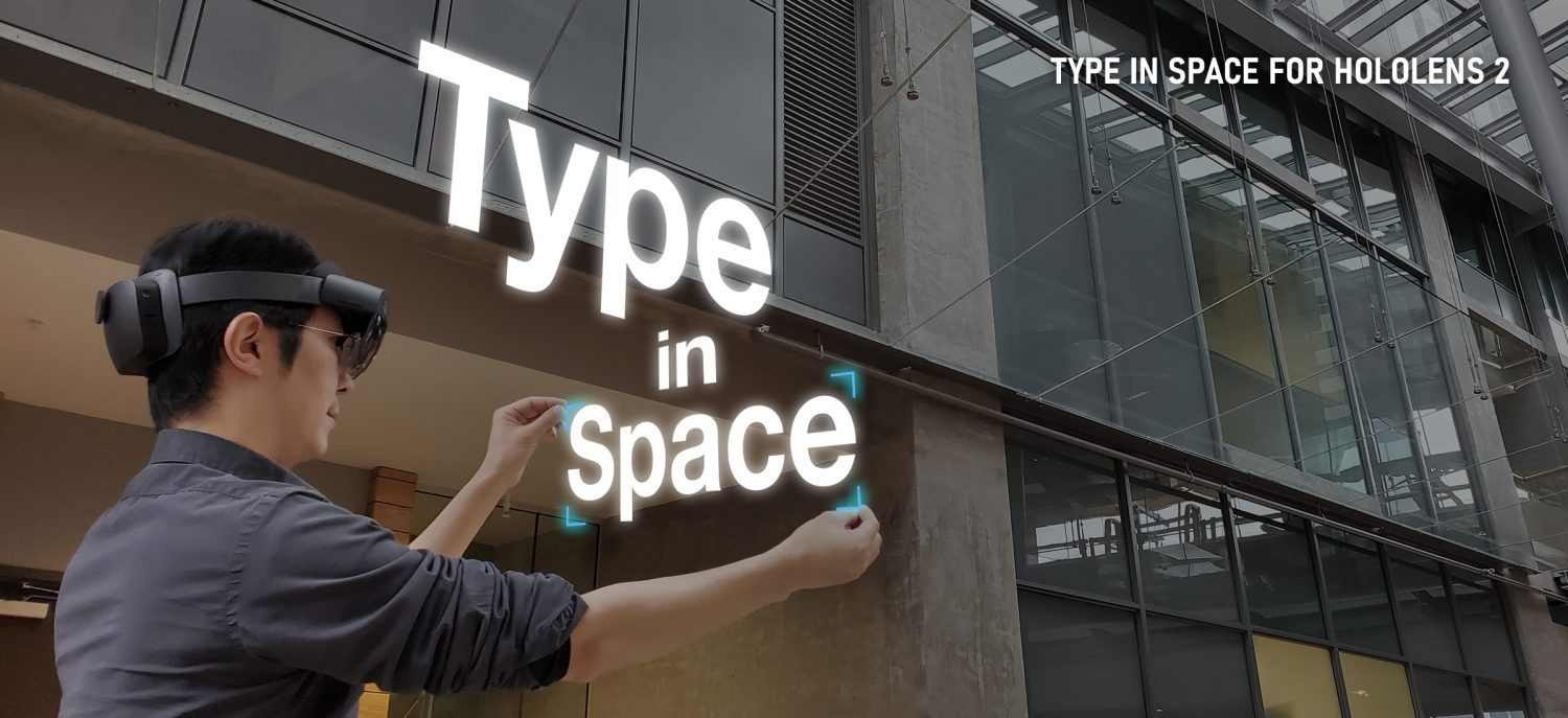 Type In Space for HoloLens 2
